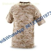 Solid Color Camouflage Military T-Shirt for Army Police Wear
