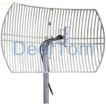 824-896MHz CDMA Grid Parabolic Antenna 15dBi Base Station Antenna Point to Point Point to Multi Point Antenna High Gain Outdoor Directional