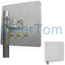 2400-2500MHz 2.4GHz 2400MHz 2.4G WIFI Wlan Wireless Panel Antenna Patch Panel Antenna 15dBi MIMO Panel Antenna Outdoor Directional Antenna