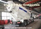 8 - 10 CBM Volume concrete mixer truck with high strength wearable steel