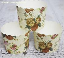 Bright Color/Designs Kraft paper Muffin cup