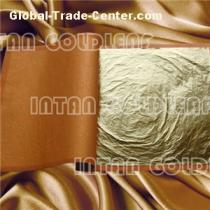 High quanlity Imitation gold leaf for furniture ceiling decoration