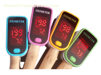 LED Fingertip Pulse Oximeter