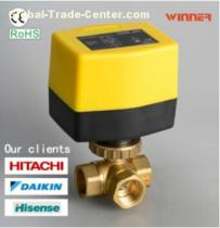 DC24V Compact Size Electric Motor Control Ball Valve