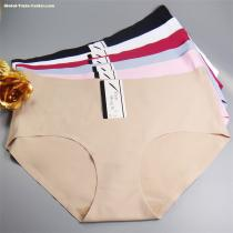 Yun Meng Ni Sexy Underwear 2XL 3XL 4XL Big Size Ladies Briefs Ice Seamless Women's Panties