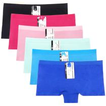 Yun Meng Ni Sexy Underwear Breathable Cotton Boyshort Plain Color Women Panties Hipsiter Lingerie