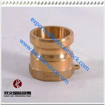 High Quality DIN2828 Brass Camlock Coupling Type A