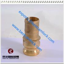 High Quality Brass Male NPT Threaded Cam and Groove Coupling Type E