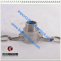 China manufacture stainless steel Cam Lock Quick Release Coupling, cam lock hose fitting Type B