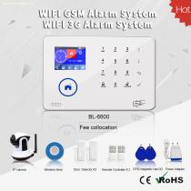 2017 hot sale /multi-languages words memu/multi-network swich function WIFI 3G UMTS wireless home alarm security system