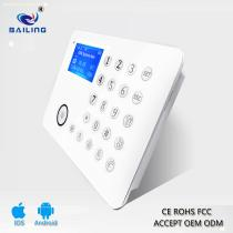 PSTN LCD/TFT GSM alarm system ,wireless alarm system with a nice outlook