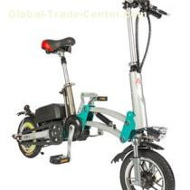 Folding Electric Power Assist Bicycle