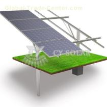 Single colunm Ground Solar Mounting System