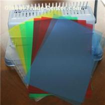 Colorful PVC Binding Cover For Note Book