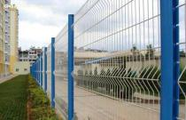 curvy wire mesh fence, welded wire fence, welded fence