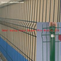 Triangular bending wire mesh fence/welded wire mesh fence panel/garden fence