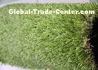 25MM Pile Height Indoor Artificial Grass S Shape , Landscaping Artificial Turf