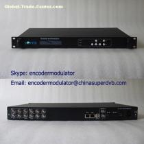 Digital TV 4xCVBS MPEG-4/H.264 SD Encoder CS-10401D HD TV broadcasting equipment