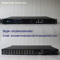 CATV Headend MPEG2/H.264 8xCVBS Encoders CS-10801C-2