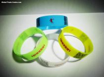 25MM wide silicone bracelet