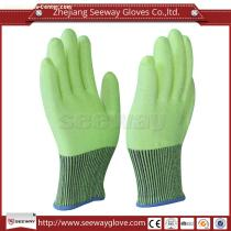 Seeway B508 Green HHPE Anti Cutting Gloves EN388 Certified Class 5 Cutting Slicing Carving Hand Protection for Industrial Work Safety