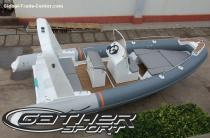 RIB boat 6.8m for sale
