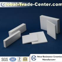 Alumina lining plate for wear resistant solutions