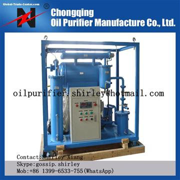Low Operating Costs Transformer Oil Purification System ZY for Electric Power
