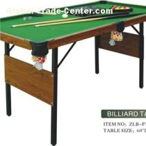 Stable Foldable MDF Billiard Table