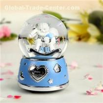 Hand Cranked Snow Globes