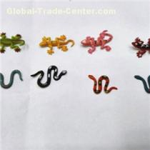 Factory Wholesaler Capsule Toy Plastic Lizards And Snake