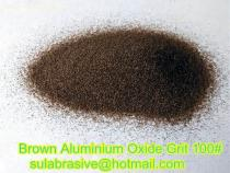 brown fused alumina girt 100