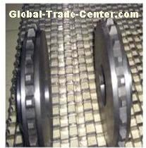 Honeycomb metal conveyor belt