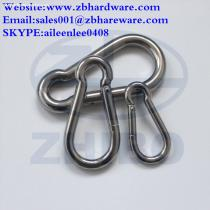 Stainless Steel Carabiner, Snap Hook For Camping