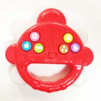 kids hadle shaking led sound toy