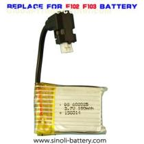 DFD F103 F102 Replacement Li Polymer Battery 3.7v 180mah 602025