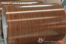 Wood grain prepainted Galvanized Steel Coils