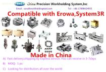 workholding tools compatible with Erowa,system3R Ftool