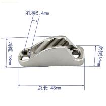 stainless steel clam cleat