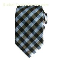 Striped And Plaid Tie With Popular Color