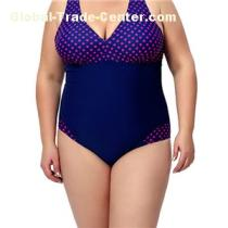 Summer One Piece Bathsuit Plus Size, Sexy Halter Plus Size Swimwear For Women