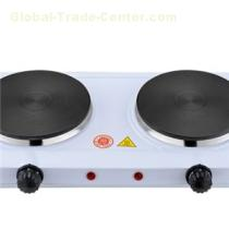 Double Solid Iron Electric Hot Plate With Indictor Light Power 1100w And 1000w