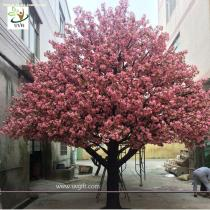 UVG CHR021 5m Indoor home artificial cherry blossom landscape trees for birthday party decoration