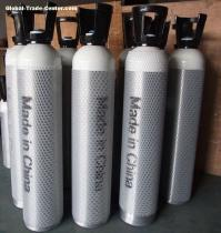 Low price high quality gas 40 L steel oxygen cylinders