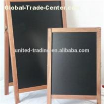 Outdoor Wood Chalk Board With Marker/chalk