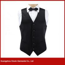 Custom Fashion New Style Mens formal Waistcoat Vest for waiter