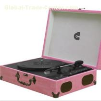 Classic Suitcase Record Vinly Turntable Player