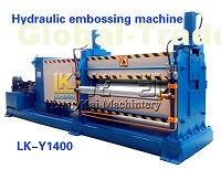High quality color sheet metal embossing simple sheet metal embossing machine