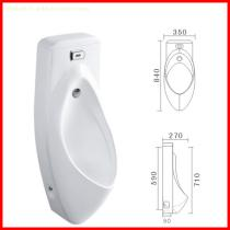 cheap automatic sensor ceramic urinal with cover male urine bowl