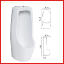 chaozhou factory made ceramic wall mounted closet urinal urine pot male